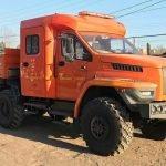 Нижегородский автозавод освоил выпуск грузовиков «Урал Next» с двухрядной семиместной кабиной и КМУ