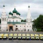 Новые машины скорой помощи ишкольные автобусы переданы учреждениям Ярославской области