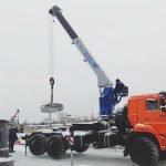 «Галичский автокрановый завод» выпустил новый кран-манипулятор нашасси КАМАЗ