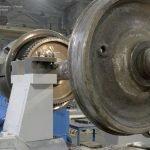 Сдан специальный токарный станок для ремонта колёсных пар
