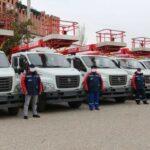 Энергетики Дагестана получили 144 новые машины