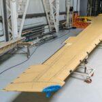 Консоль крыла МС-21-300 изкомпозитов отечественного производства доставлена назавод «Иркут»