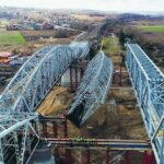 Открылось движение поездов попервому главному пути нового моста через Оку